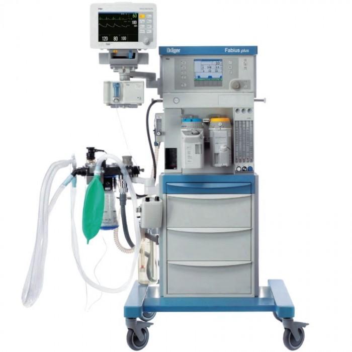 Наркозно-дыхательный аппарат Drager Fabius Plus