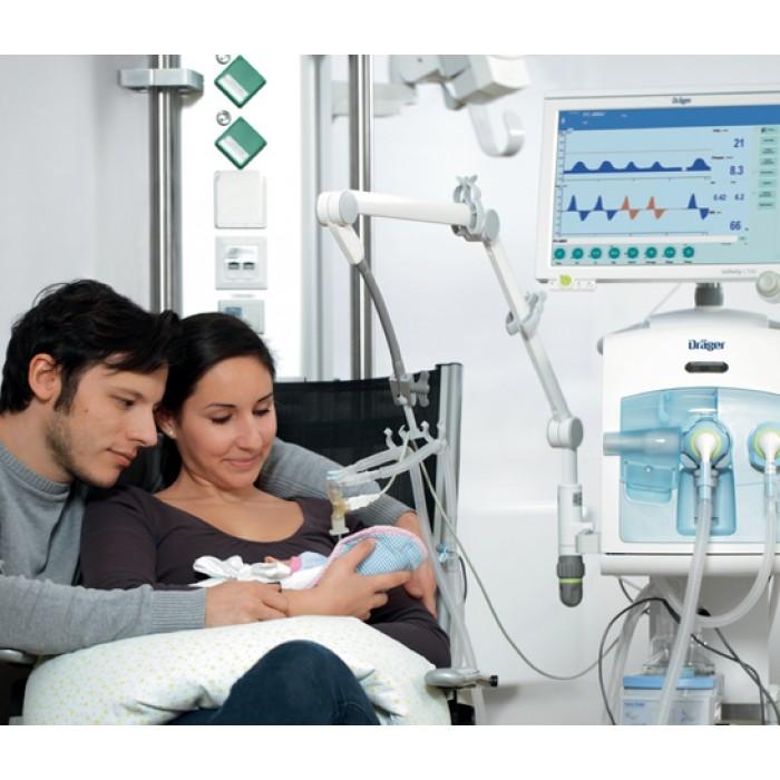 Аппарат ИВЛ для новорожденных и детей Babylog VN500